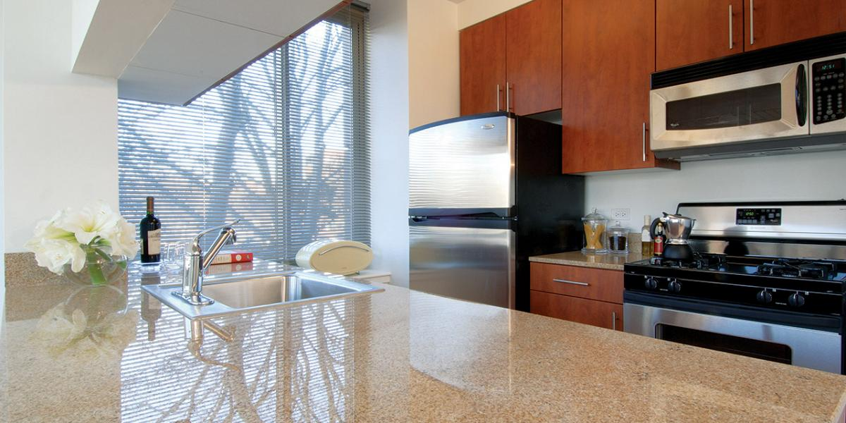 Open Floorplan Apartments New York Nyc Apartment Kitchen