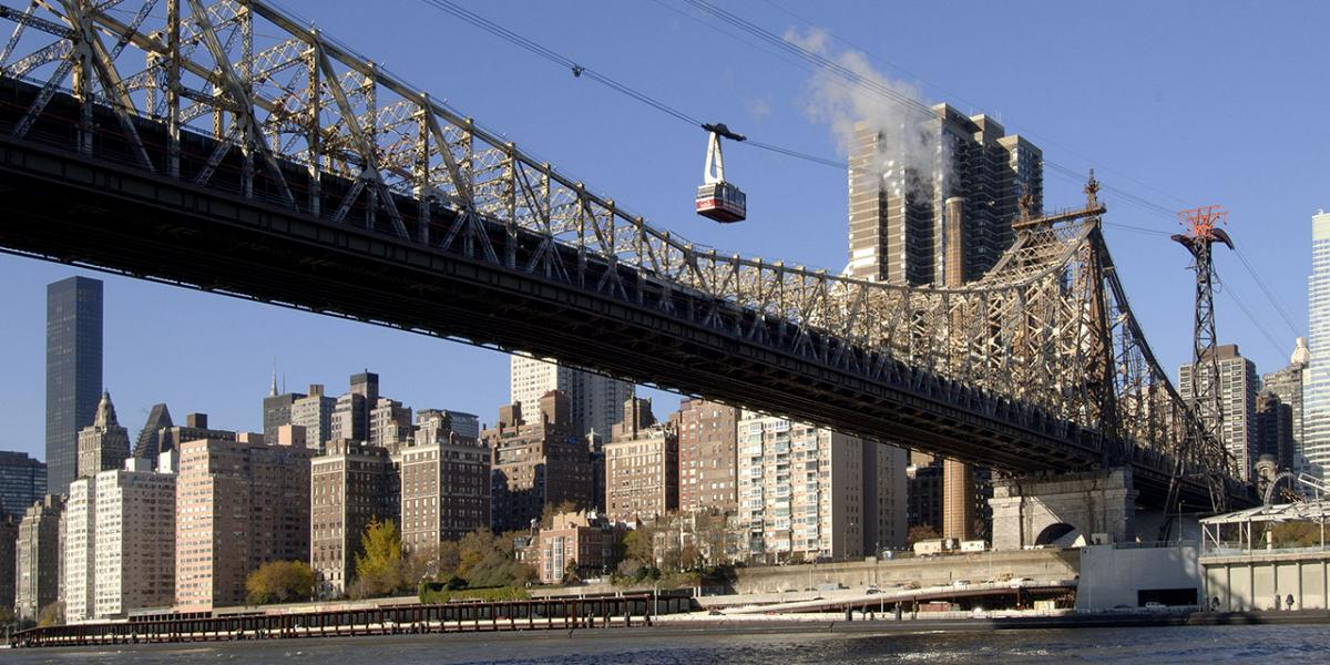 Roosevelt Island Tram to Manhattan